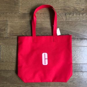 3/$15✨Clinique red pink tote NWT